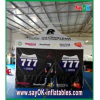 Buy quality 3 Side Walls Gazebo Replacement Canopy For Promotion 210D Oxford Cloth at wholesale prices