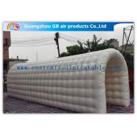 Open Air Inflatable Tunnel Tent Inflatable Sports Dome Durable PVC Wire Stitching