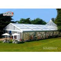 Buy cheap Sunproof  20 x 30 m  Wedding Tent  With Glass Walls And Doors For  Outdoor Party product