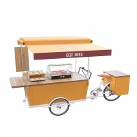 Buy cheap OEM Three Wheels 48V Electric Tricycle Street Food Cart product