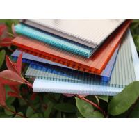 Buy cheap Multiwall Polycarbonate Roofing Sheets Construction Material Eco Friendly product