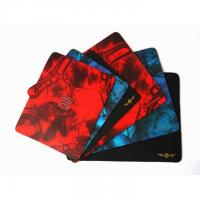 Buy quality Custom Printed Smooth Fabric Rubber Mouse Pad For Promotion at wholesale prices