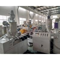 Buy cheap T5 PC LED Tube Production Line SJ50/28 Model Single Extruder Extrusion Line product