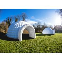 Buy cheap Heat Sealing Inflatable Event Shelter PVC Coated Cloth Airbag Outdoor product