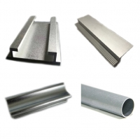 Buy cheap T6 CNC Silver Sand Blasted Anodized Aluminum Profiles product