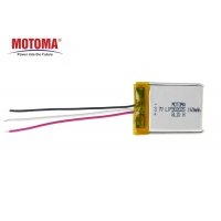 Buy cheap 160mah 3.7V Tracker Lithium Batteries Customized Size ISO9001 approved product