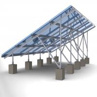 Buy cheap 60m/s Solar Panel Ground Mounting Systems For Photovoltaic PV Array SGS Approved product