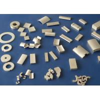 Buy cheap Rare Earth Strong Permanent Magnets , NdFeB Magnet For Motors N52 N35SH product