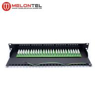 Buy cheap 19 Inch 50 Port Telephone Patch Panel With Krone IDC Rack Mount 1U MT4004 from wholesalers