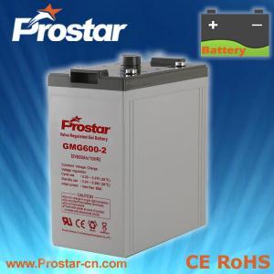 Buy cheap Prostar Gel Battery 2V 600AH product