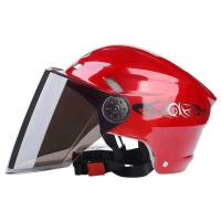 Buy cheap Retro Motorcycle Helmet Fashion Open Half Face Helmet Electric Motorcycle Keep Warm Safe Helmet With CE Certificate product