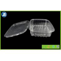 Buy cheap Salad Clear Plastic Food Packaging Trays / thermoformed plastic trays product