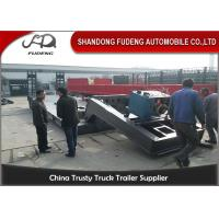 Buy cheap Hydraulic Gooseneck lowboy Trailer ,  80 Tons Detachable front loading Low Loader Trailer product