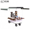 Buy cheap 4 Wheels Vending Outdoor Coffee Cart Powder Coating Mobile Coffee Bike from wholesalers