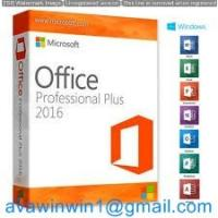 Buy cheap Original 100% Desktop Office Professional Plus 2016 And Office Home And Business 2016 Server with Disc Retail Box product