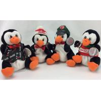 Buy cheap Beautiful Penguin Stuffed Animal , Stuffed Animal Christmas Ornaments For Celebrate Party product