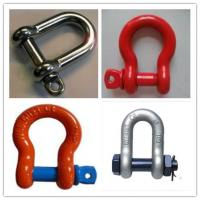 Buy cheap Screw Pin Bow Shackle& D- Shackle,Standard D Shackle&forged Shackle product
