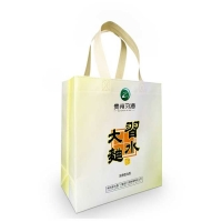 PP 85Gsm Non Woven Eco Bag Handle With Heat Transfer Printing for sale