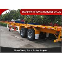 Buy cheap Container chassis trailer , skeleton semi trailer 2 axles 20ft and 40ft with warranty and parts product