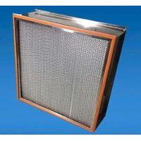 Buy cheap 99.99% High Efficiency Particulate Air Hepa Filter H13 H14 For Spray Booth product