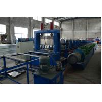 China Heavy Duty 1.5-3.0mm G.I Steel Perforated Cable Tray Roll Former High Speed Fully Automatic on sale