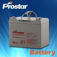 Buy cheap Prostar gel battery 12v 33ah product