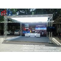 Buy cheap Special Shape Aluminum Light Truss With Welded Aluminum Tubes 290x290mm product