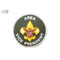 Buy cheap Logo Custom Boy Scout Patches , Army Green Color Custom Military Patches With Letter product