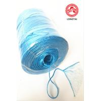 Fibrillated Split Film PP Twine In Ball Roll And Spool / Polypropylene Rope for sale