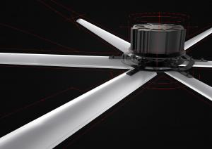 Buy cheap Blade Diameter 7.3m AC DC Large HVLS Fans F Isolating Grade product
