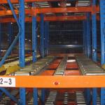 Buy cheap Steel Warehouse Flow Racks FIFO Order Picking System 1000kg - 6000kg Loading Capacity product