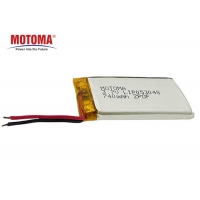 Buy cheap 500 times 740mAh Lithium Lipo Battery Eco Friendly With PCM And Connector product