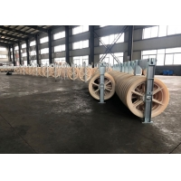 Buy cheap 508*110mm Three Nylon Wheels Bundled Conductor Pulley product