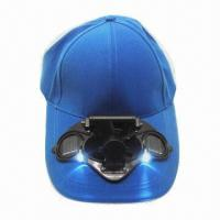 China Promotional Sports Cap with LED Light, 2V Voltage and 50mA Current, Available in Various Colors on sale