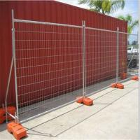 Buy cheap Portable Galvanized Construction Heavy Duty Temporary Fencing ISO9001 Certified product