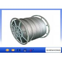 Buy cheap 18 Strands Anti Twist Wire Rope / Galvanized Steel Wire Rope 252kN 20mm Diameter product
