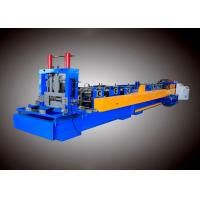 Interchangeable CZ Channel Steel Frame Roll Forming Machine CE Standard
