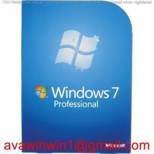 Buy cheap Desktop Computer Windows 7 Pro License , Windows 7 Professional 32 / 64 Bit product