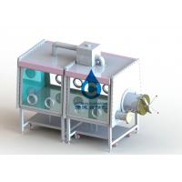 High Reliability Car Battery Production Line 2 Section Standard Glove Box for sale