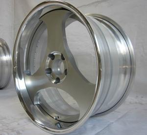BFL14/3 piece wheels /flat lip/forged wheels/rear mount rims/Aluminum 6061