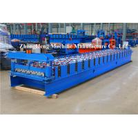 Buy cheap C10 Metal Sheet Forming Machine Roll Former Machine For Warehouses Roof Panel product