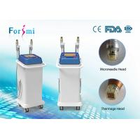 two handle equipped micro needle and thermage combined super skin tighten 80 watt rf power thermage machine manufacturer