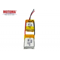 Buy cheap 3.7V 180mah GPS Tracker Battery Light Weight With High Consistency product