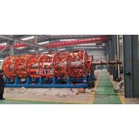 Buy cheap Steel Wire Armouring Machine 48+48 Nos Bobbins DIN400 0.8-4.0 mm product