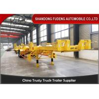 Buy cheap FUDENG Bomb Cart Port Terminal Container Trailer , 45ft terminal chassis trailer product