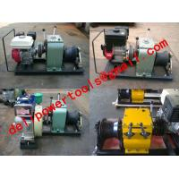 Buy cheap Cable Hauling and Lifting Winches,Cable Drum Winch product
