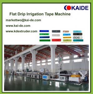 180m/min Drip Irrigation Pipe Making Machine/China drip irrigation tube extrusion line
