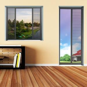 Buy cheap Anti Mosquito Single open Retractable roller screen for window & door product