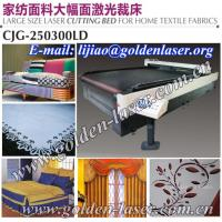 Buy quality CO2 Laser Fabric Cutter With 100W/150W/200W RF Metal Tube at wholesale prices
