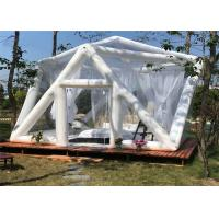 Buy cheap Commercial Inflatable Party Tent , Blow Up Event Tent  Clear Bubble Design Quick Set product